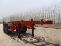 可利尔牌HZY9350TJZ型集装箱运输半挂车