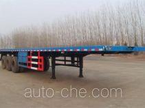 可利尔牌HZY9400TPB型平板运输半挂车