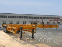 可利尔牌HZY9402TJZ型集装箱运输半挂车