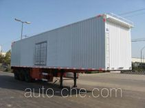 Kelier HZY9402XXY box body van trailer