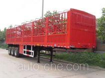 可利尔牌HZY9405CCY1型仓栅式运输半挂车