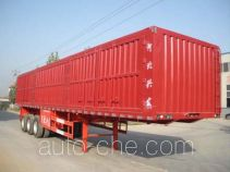 Kelier HZY9384XXY box body van trailer
