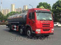 Hongzhou HZZ5251GFW corrosive substance transport tank truck
