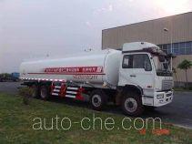 Hongzhou HZZ5310GHY chemical liquid tank truck