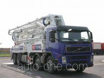 宏宙牌HZZ5380THB型混凝土泵车