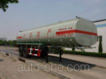 Hongzhou HZZ9290GHY chemical liquid tank trailer
