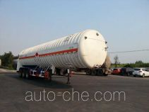 Hongzhou HZZ9400GDY cryogenic liquid tank semi-trailer