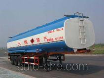 宏宙牌HZZ9400GHY型化工液体运输半挂车