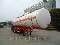 宏宙牌HZZ9400GRYB型易燃液体罐式运输半挂车
