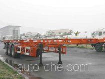 宏宙牌HZZ9400TJZ型集装箱运输半挂车