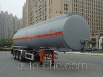 Hongzhou flammable liquid aluminum tank trailer