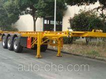 Hongzhou HZZ9401TWY dangerous goods tank container skeletal trailer