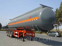 Hongzhou HZZ9403GFW corrosive materials transport tank trailer