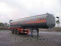 Hongzhou HZZ9403GHY chemical liquid tank trailer