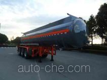 Hongzhou HZZ9404GFW corrosive materials transport tank trailer
