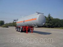 Hongzhou HZZ9405GFW corrosive materials transport tank trailer
