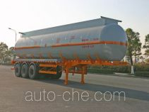 Hongzhou HZZ9405GHY chemical liquid tank trailer