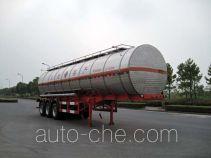 Hongzhou HZZ9406GHY chemical liquid tank trailer