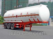 Hongzhou HZZ9409GRY flammable liquid tank trailer