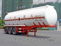 宏宙牌HZZ9409GRY型易燃液体罐式运输半挂车