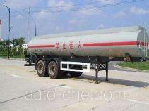 大力士牌JAT9270GHY型化工液体运输半挂车