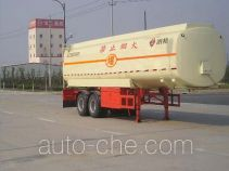 Yongxuan JAT9321GHY chemical liquid tank trailer