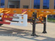 Dalishi JAT9400TWY каркасный полуприцеп контейнеровоз для контейнеров-цистерн с опасным грузом