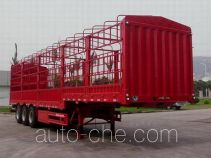 大力士牌JAT9401CCY型仓栅式运输半挂车