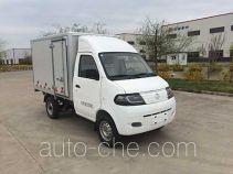 达福迪牌JAX5021XXYBEVF216LB15M2X1型纯电动厢式运输车