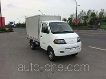 达福迪牌JAX5022XXYBEVF170LB15M2X1型纯电动厢式运输车