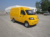 达福迪牌JAX5023XXYBEVF120LB15M2X2型纯电动厢式运输车