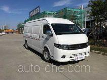 达福迪牌JAX5044XXYBEVF230LB70M2X2型纯电动厢式运输车