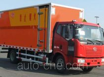 Jiancheng JC5100XQYCA4 explosives transport truck