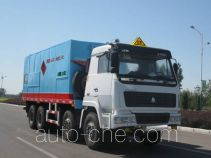 Jiancheng JC5311THRZZ emulsion explosive on-site mixing truck