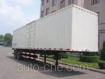 Jiancheng JC9320XXY box body van trailer