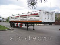 Jiancheng JC9350GGQ high pressure gas transport trailer