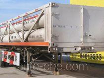 Jiancheng JC9370GGQ high pressure gas transport trailer