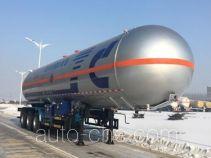Jiancheng JC9390GYQQY liquefied gas tank trailer