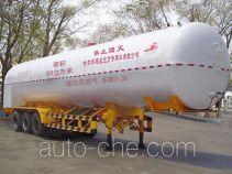 Jiancheng JC9400GDY cryogenic liquid tank semi-trailer