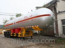 建成牌JC9400GYQQ型液化气体运输半挂车