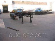 Jiancheng JC9400TJZGJ container transport skeletal trailer