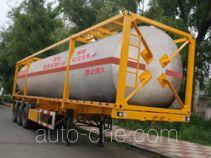 Jiancheng JC9402GRY flammable liquid tank trailer