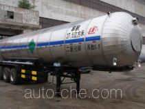 Jiancheng JC9402GYU carbon dioxide transport tank trailer