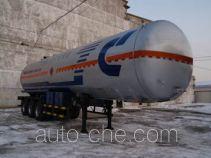 Jiancheng JC9403GRYHYBW flammable liquid tank trailer