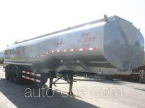 Jiancheng JC9405GRY flammable liquid aluminum tank trailer