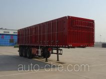 Jidong Julong JD9400XXY box body van trailer