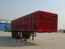 Jidong Julong JD9401XXY box body van trailer