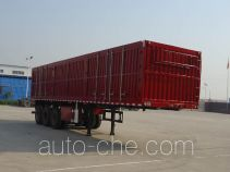 Jidong Julong JD9402XXY box body van trailer