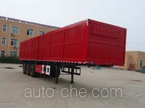 Jidong Julong JD9405XXY box body van trailer