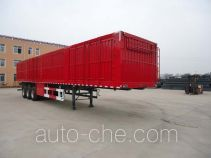 Jidong Julong JD9408XXY box body van trailer